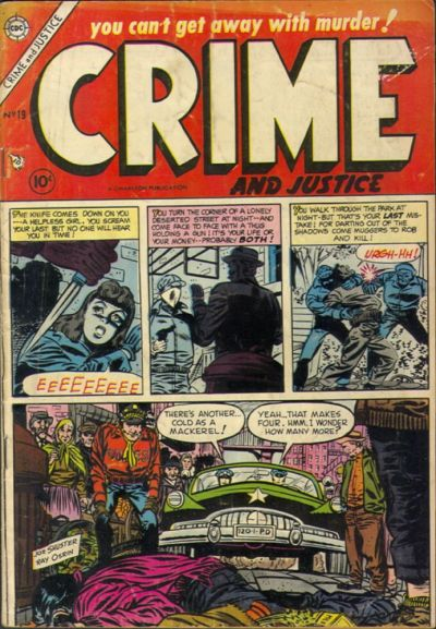 Cover for Crime and Justice (Charlton, 1951 series) #19