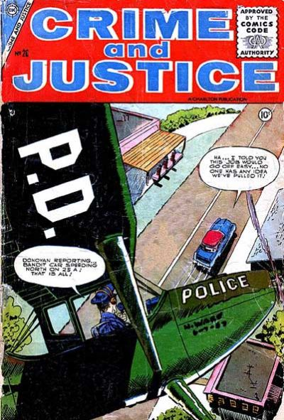 Cover for Crime and Justice (Charlton, 1951 series) #26