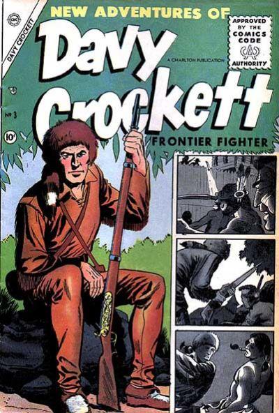 Cover for Davy Crockett (Charlton, 1955 series) #3