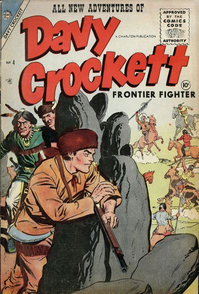 Cover for Davy Crockett (Charlton, 1955 series) #4