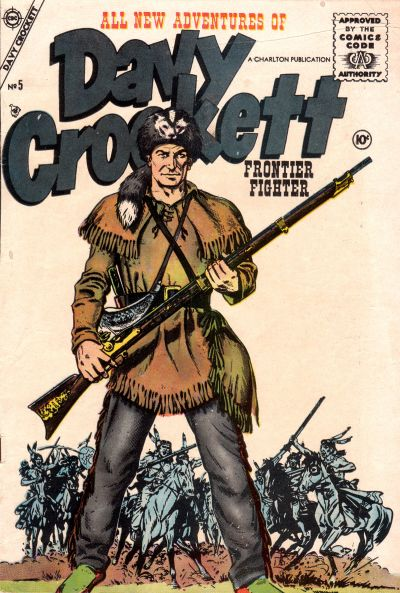 Cover for Davy Crockett (Charlton, 1955 series) #5