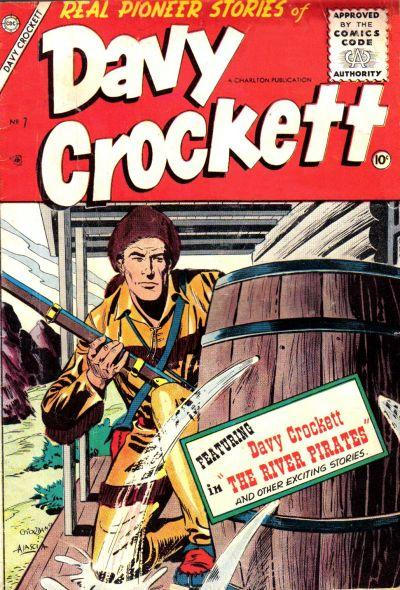 Cover for Davy Crockett (Charlton, 1955 series) #7