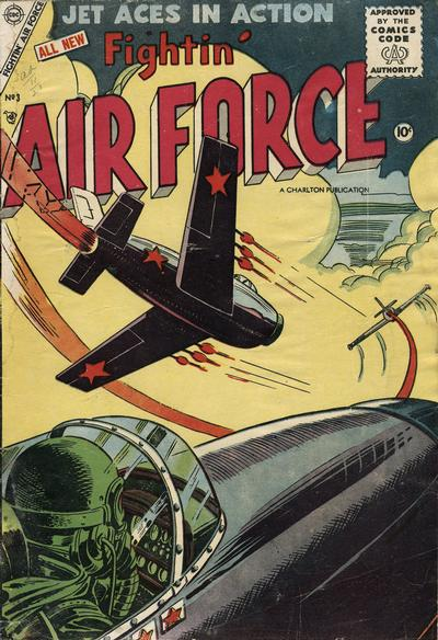 Cover for Fightin' Air Force (Charlton, 1956 series) #3