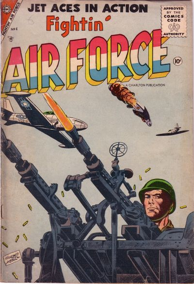 Cover for Fightin' Air Force (Charlton, 1956 series) #4