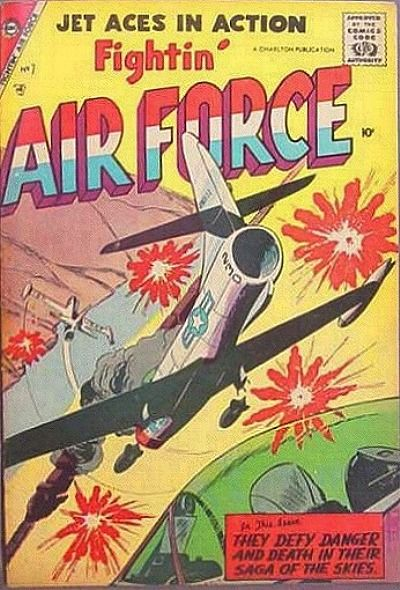 Cover for Fightin' Air Force (Charlton, 1956 series) #7