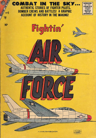 Cover for Fightin' Air Force (Charlton, 1956 series) #9