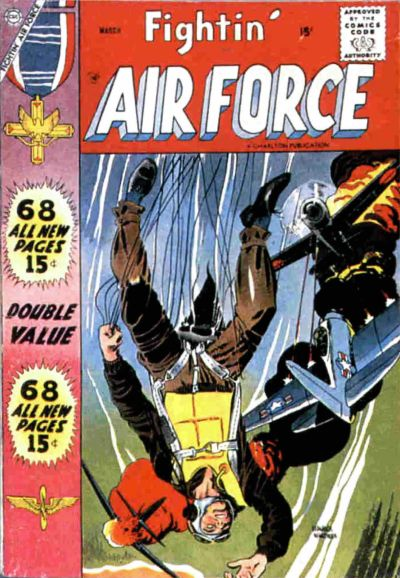 Cover for Fightin' Air Force (Charlton, 1956 series) #11