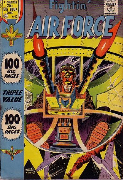 Cover for Fightin' Air Force (Charlton, 1956 series) #12