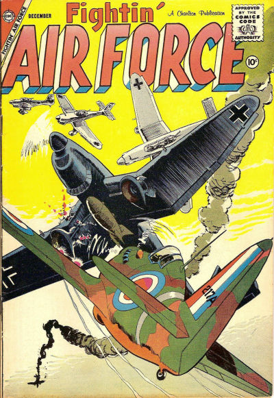 Cover for Fightin' Air Force (Charlton, 1956 series) #13