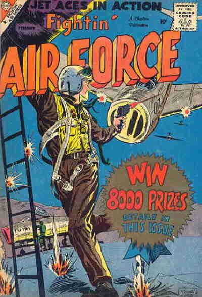 Cover for Fightin' Air Force (Charlton, 1956 series) #14