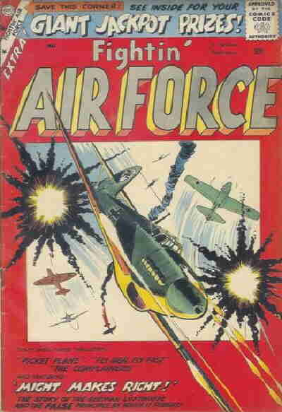 Cover for Fightin' Air Force (Charlton, 1956 series) #15