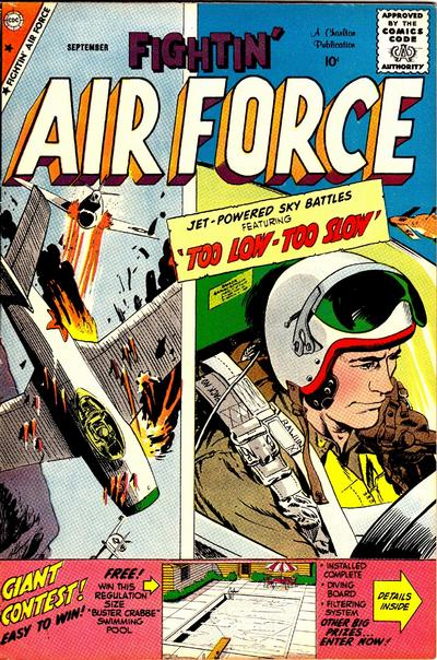 Cover for Fightin' Air Force (Charlton, 1956 series) #17