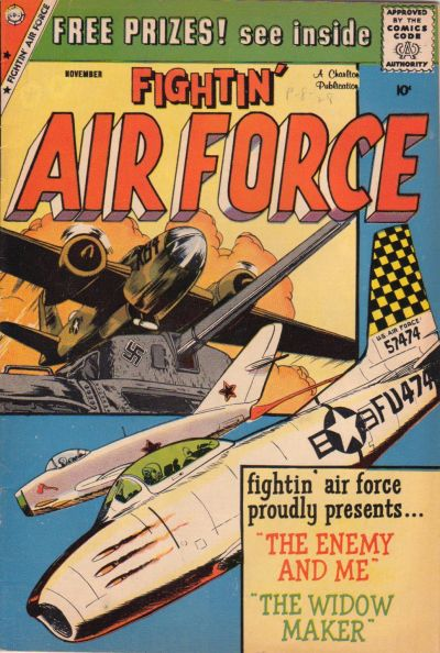Cover for Fightin' Air Force (Charlton, 1956 series) #18