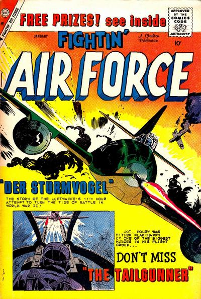 Cover for Fightin' Air Force (Charlton, 1956 series) #19