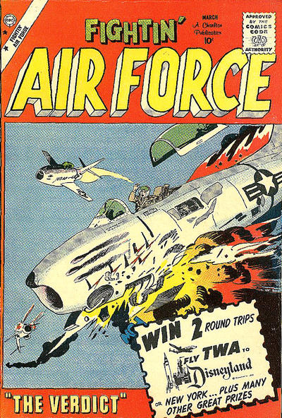 Cover for Fightin' Air Force (Charlton, 1956 series) #20
