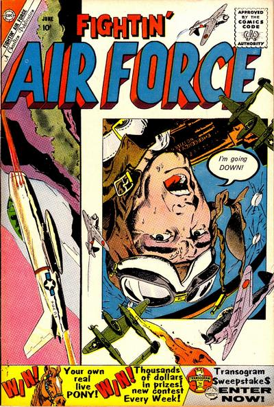 Cover for Fightin' Air Force (Charlton, 1956 series) #21