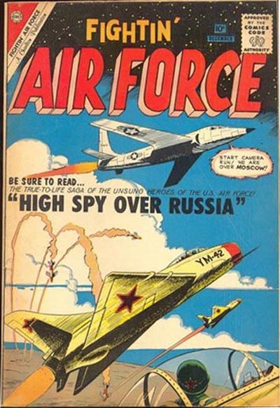 Cover for Fightin' Air Force (Charlton, 1956 series) #24