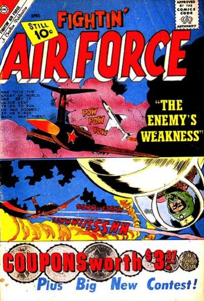 Cover for Fightin' Air Force (Charlton, 1956 series) #26