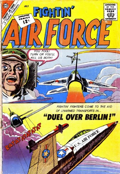 Cover for Fightin' Air Force (Charlton, 1956 series) #33