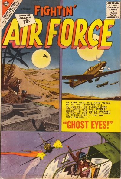 Cover for Fightin' Air Force (Charlton, 1956 series) #34