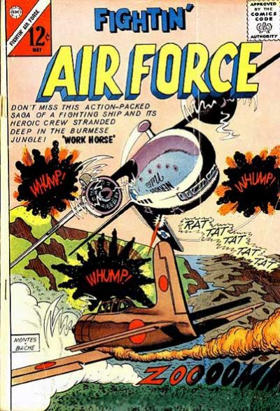 Cover for Fightin' Air Force (Charlton, 1956 series) #38
