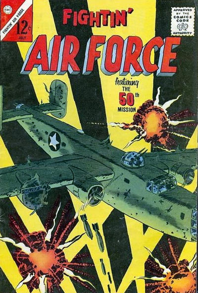 Cover for Fightin' Air Force (Charlton, 1956 series) #39