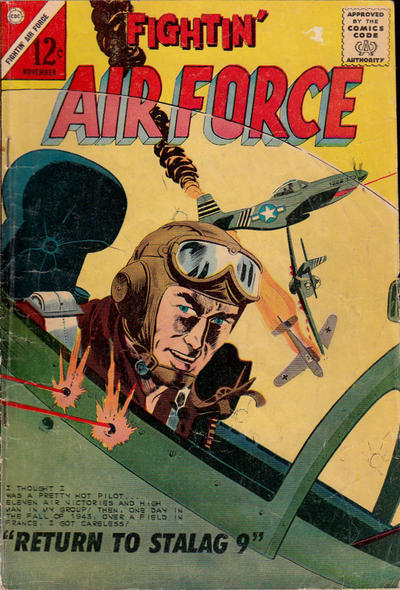 Cover for Fightin' Air Force (Charlton, 1956 series) #41