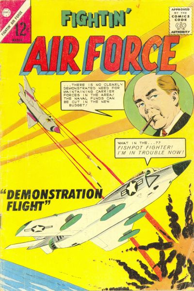 Cover for Fightin' Air Force (Charlton, 1956 series) #43
