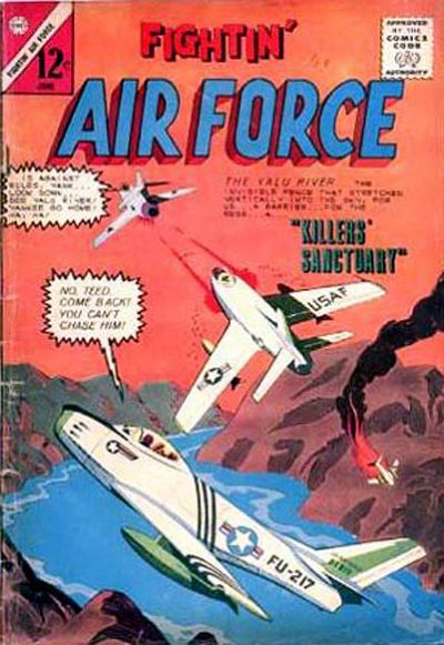 Cover for Fightin' Air Force (Charlton, 1956 series) #44