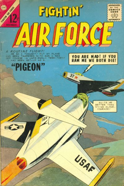 Cover for Fightin' Air Force (Charlton, 1956 series) #46