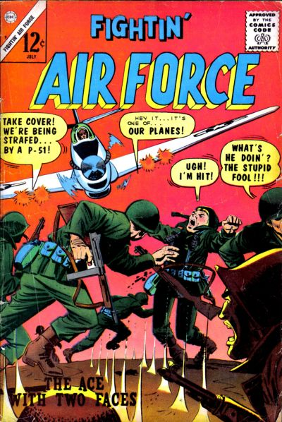 Cover for Fightin' Air Force (Charlton, 1956 series) #49