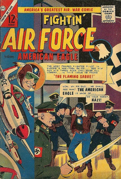Cover for Fightin' Air Force (Charlton, 1956 series) #50