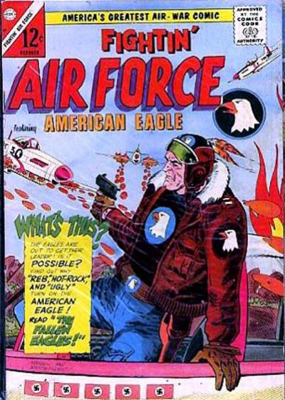 Cover for Fightin' Air Force (Charlton, 1956 series) #51