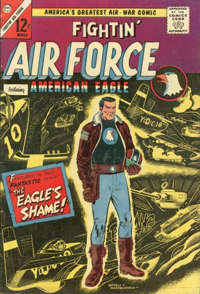 Cover for Fightin' Air Force (Charlton, 1956 series) #53