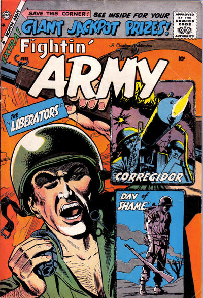 Cover for Fightin' Army (Charlton, 1956 series) #30