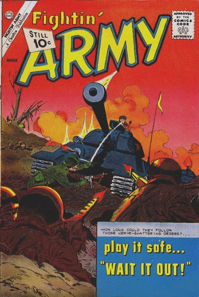 Cover for Fightin' Army (Charlton, 1956 series) #45