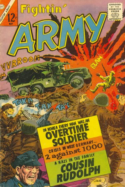 Cover for Fightin' Army (Charlton, 1956 series) #52