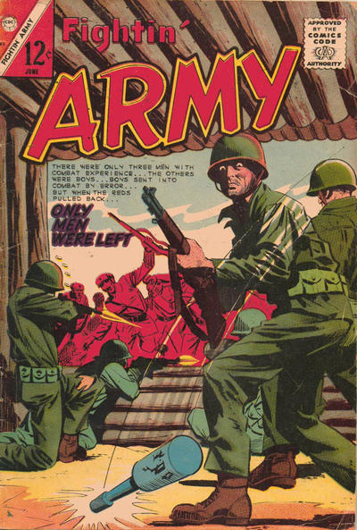 Cover for Fightin' Army (Charlton, 1956 series) #63