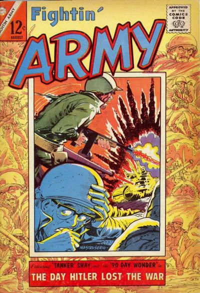 Cover for Fightin' Army (Charlton, 1956 series) #64