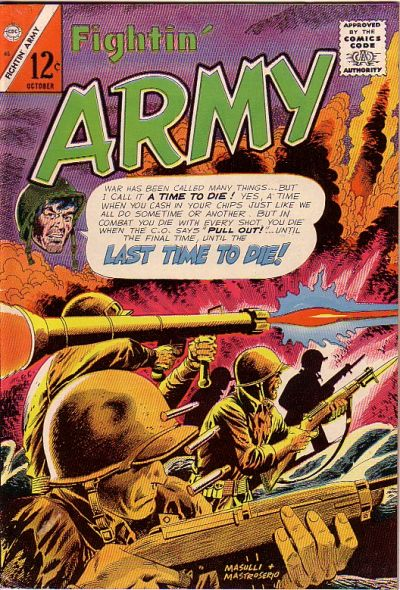 Cover for Fightin' Army (Charlton, 1956 series) #65