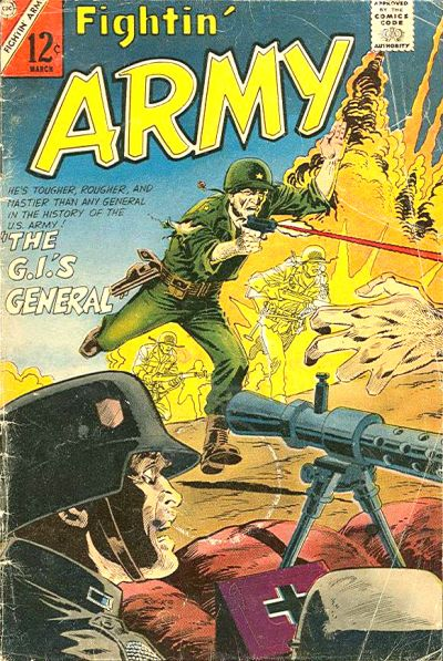 Cover for Fightin' Army (Charlton, 1956 series) #73
