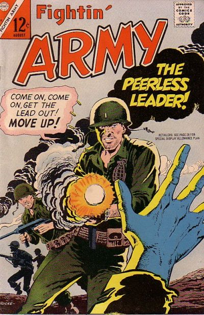 Cover for Fightin' Army (Charlton, 1956 series) #75