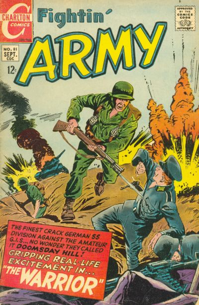 Cover for Fightin' Army (Charlton, 1956 series) #81