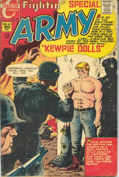 Cover for Fightin' Army (Charlton, 1956 series) #84