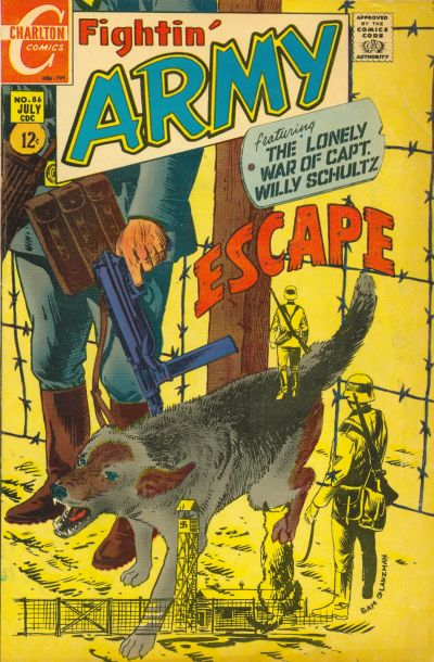 Cover for Fightin' Army (Charlton, 1956 series) #86