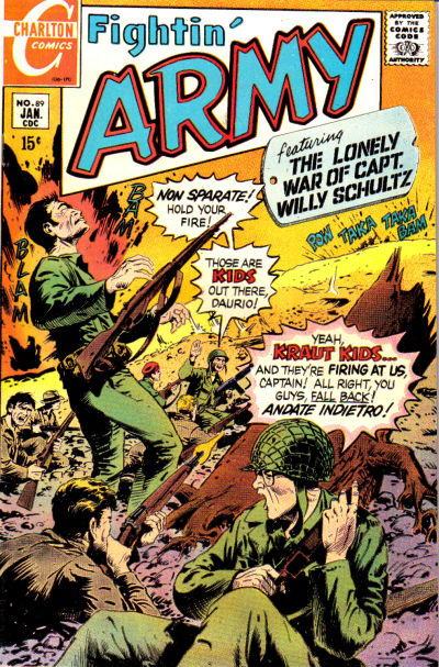 Cover for Fightin' Army (Charlton, 1956 series) #89
