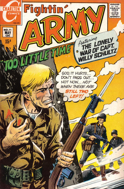 Cover for Fightin' Army (Charlton, 1956 series) #91
