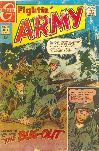 Cover for Fightin' Army (Charlton, 1956 series) #92