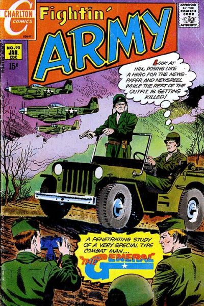 Cover for Fightin' Army (Charlton, 1956 series) #95