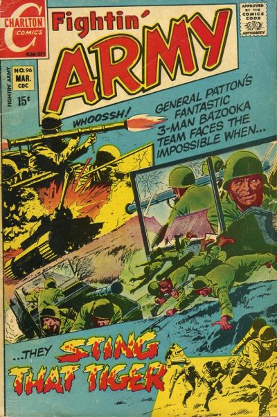 Cover for Fightin' Army (Charlton, 1956 series) #96